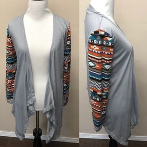 Boho Waterfall Cardigan Size Medium
